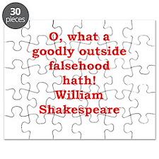 william shakespeare Puzzle