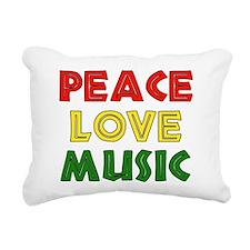 peace02.png Rectangular Canvas Pillow