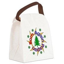 bornpagan01.png Canvas Lunch Bag