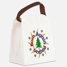 bornpagan01.png Canvas Lunch Bag