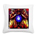 wisewomen01.png Square Canvas Pillow
