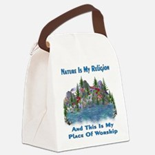 naturepagan01a.png Canvas Lunch Bag