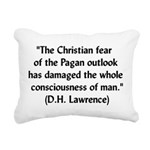 lawrencequote01x.png Rectangular Canvas Pillow