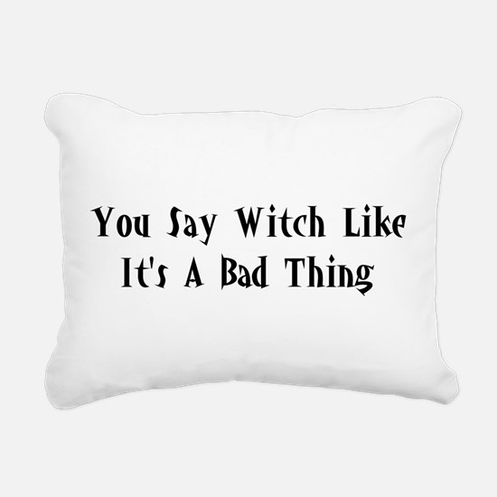 good_witch02.png Rectangular Canvas Pillow