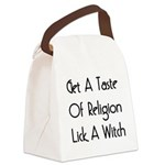 lickawitch01x.png Canvas Lunch Bag