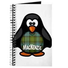 MacKenzie Tartan Penguin Journal