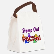 racism01.png Canvas Lunch Bag