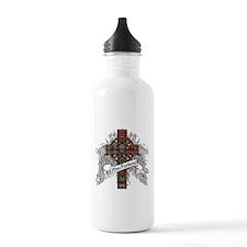 MacFarlane Tartan Cross Water Bottle