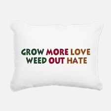 grow_love01.png Rectangular Canvas Pillow