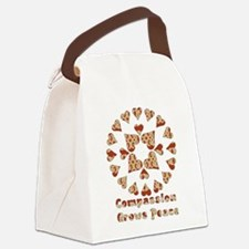 compassion01.png Canvas Lunch Bag