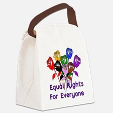 equal_rights01.png Canvas Lunch Bag