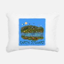 earthsteward0111a.png Rectangular Canvas Pillow