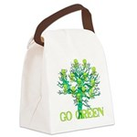 earth_day_skull02.png Canvas Lunch Bag