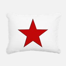 redstar01.png Rectangular Canvas Pillow