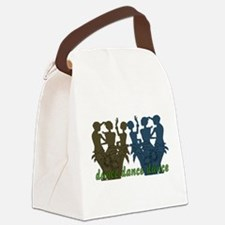 dance01.png Canvas Lunch Bag