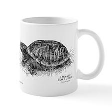 Ornate Box Turtle Small Mug