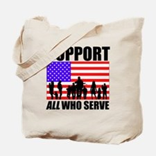 Support All Tote Bag