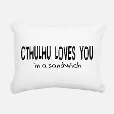 cthulhu01b.png Rectangular Canvas Pillow