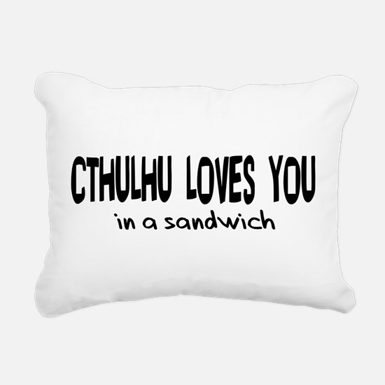 cthulhu01b.png Rectangular Canvas Pillow