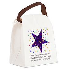 vangogh01bbx.png Canvas Lunch Bag