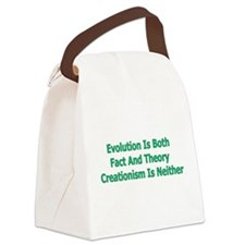 evolution01a.png Canvas Lunch Bag