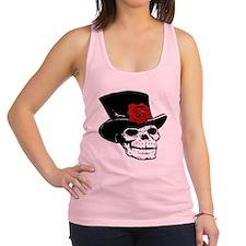 skull01.png Racerback Tank Top
