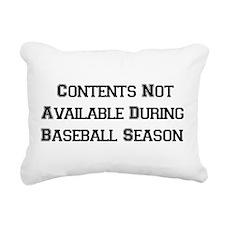 baseball01a.png Rectangular Canvas Pillow
