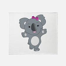 Koala Throw Blanket