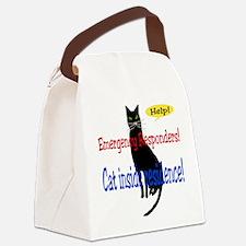 catalert01.png Canvas Lunch Bag