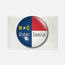 Outer Banks North Carolina Flag Rectangle Magnet