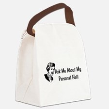 personal_hell01.png Canvas Lunch Bag