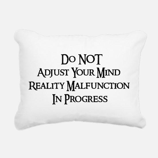donotadujst01b.png Rectangular Canvas Pillow