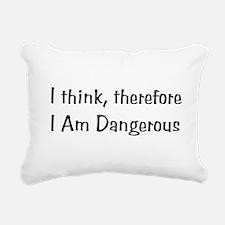 dangerous01x.png Rectangular Canvas Pillow