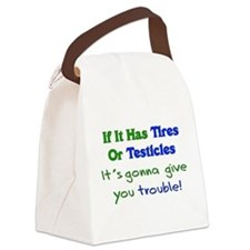 testicles01.png Canvas Lunch Bag