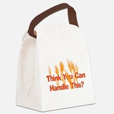 hot01.png Canvas Lunch Bag