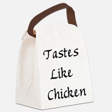 chicken03x.png Canvas Lunch Bag