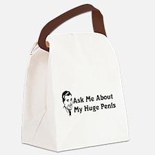 huge_penis01.png Canvas Lunch Bag