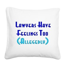 lawyers01.png Square Canvas Pillow