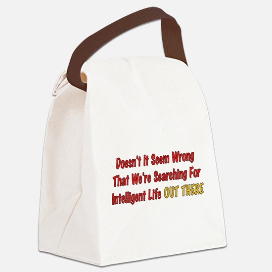wrong01.png Canvas Lunch Bag