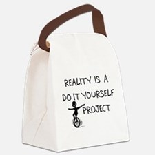 1_reality01.png Canvas Lunch Bag