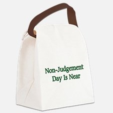 nonjudgement01a.png Canvas Lunch Bag