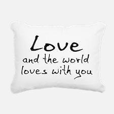 love01a.png Rectangular Canvas Pillow