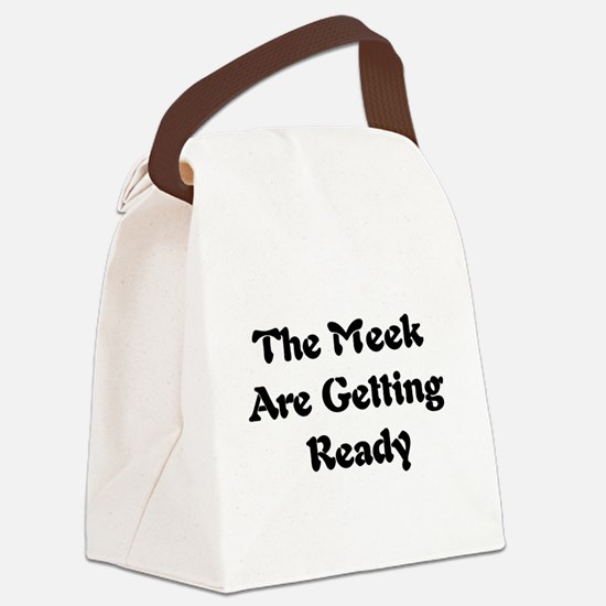 meek01a.png Canvas Lunch Bag