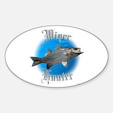 Wiper Hunter Sticker (Oval)