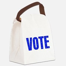 vote05.png Canvas Lunch Bag
