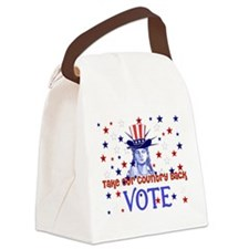 vote_election2008_03.png Canvas Lunch Bag