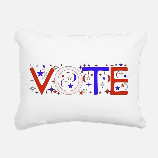 vote_election2008_01.png Rectangular Canvas Pillow