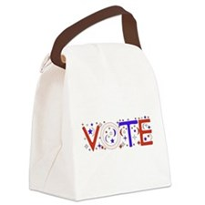vote_election2008_01.png Canvas Lunch Bag