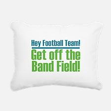 Marching Band Field Rectangular Canvas Pillow