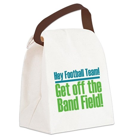 Marching Band Field Canvas Lunch Bag